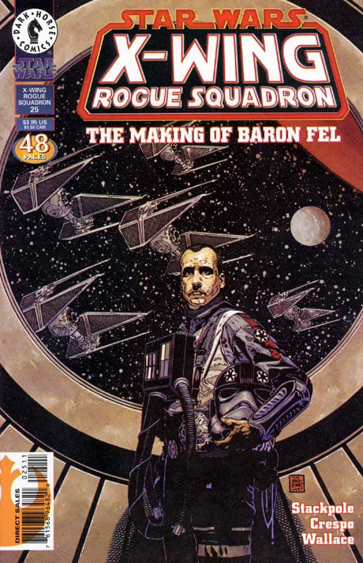 Star Wars X-Wing Rogue Squadron: The Making of Baron Fel
