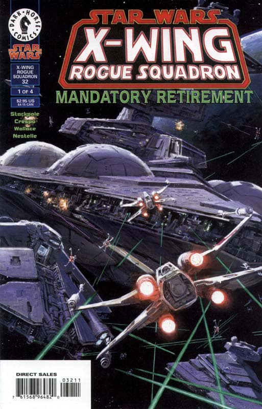 Star Wars X-Wing Rogue Squadron: Mandatory Retirement