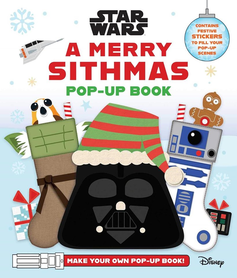Star Wars: A Merry Sithmas Pop-Up Books