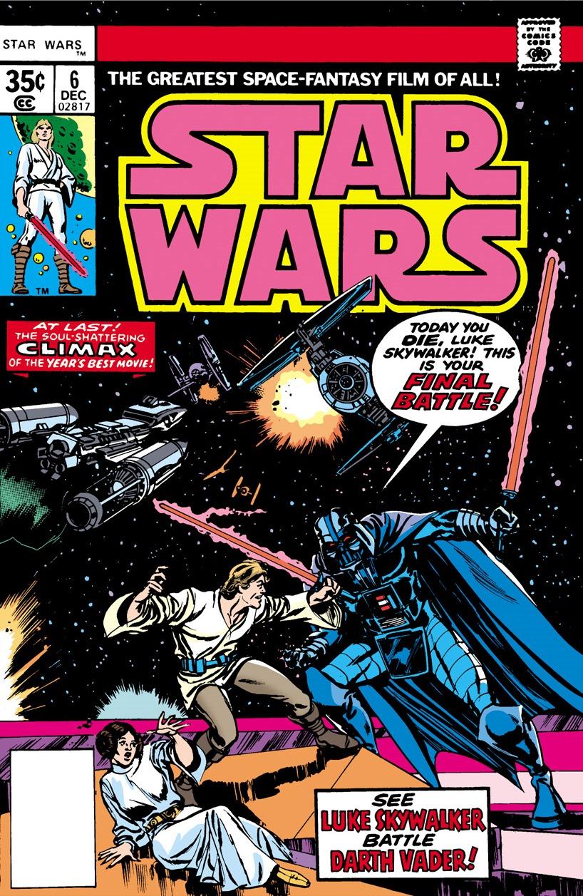 Star Wars 6 (Marvel 1977)