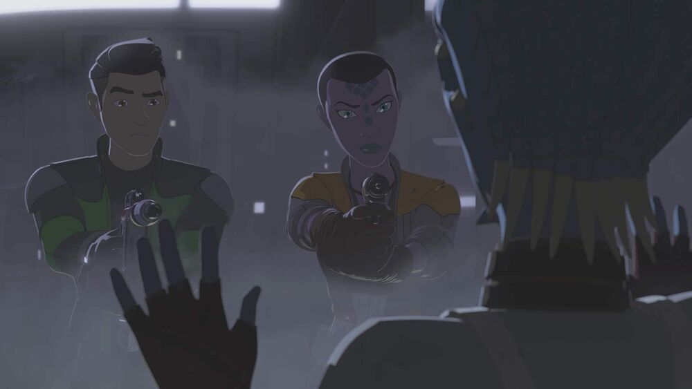 Star Wars Resistance: The Engineer