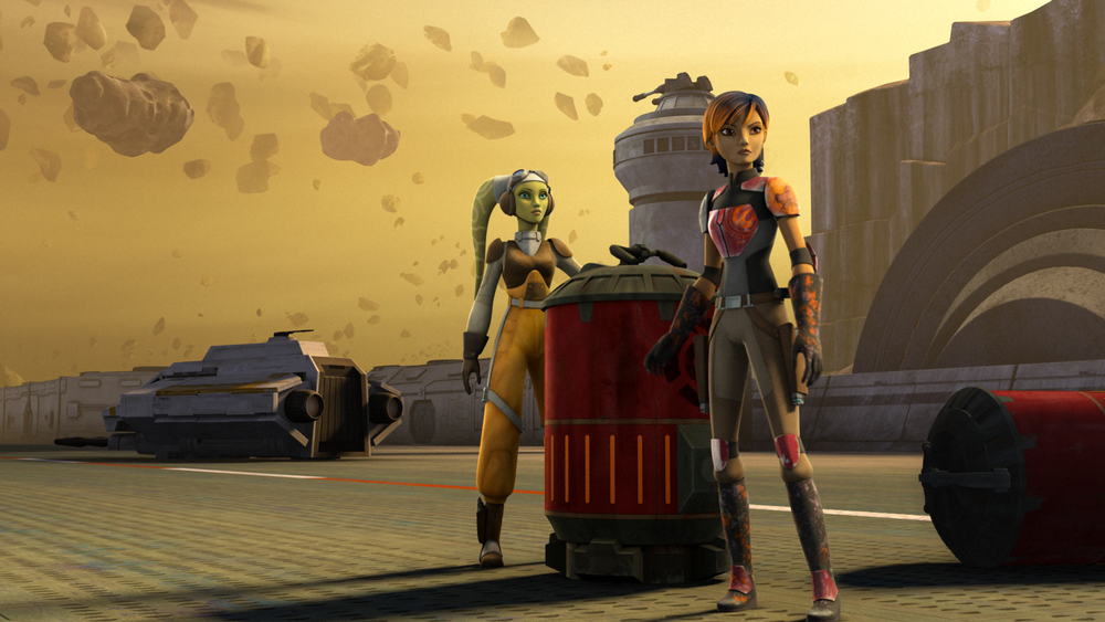 Star Wars Rebels: Out of Darkness