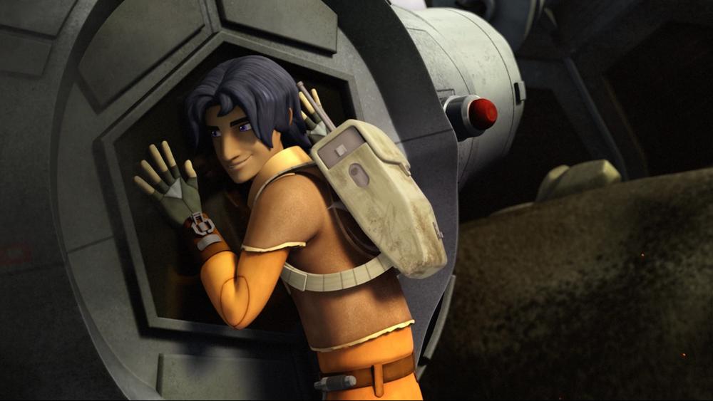 Star Wars Rebels: Property of Ezra Bridger