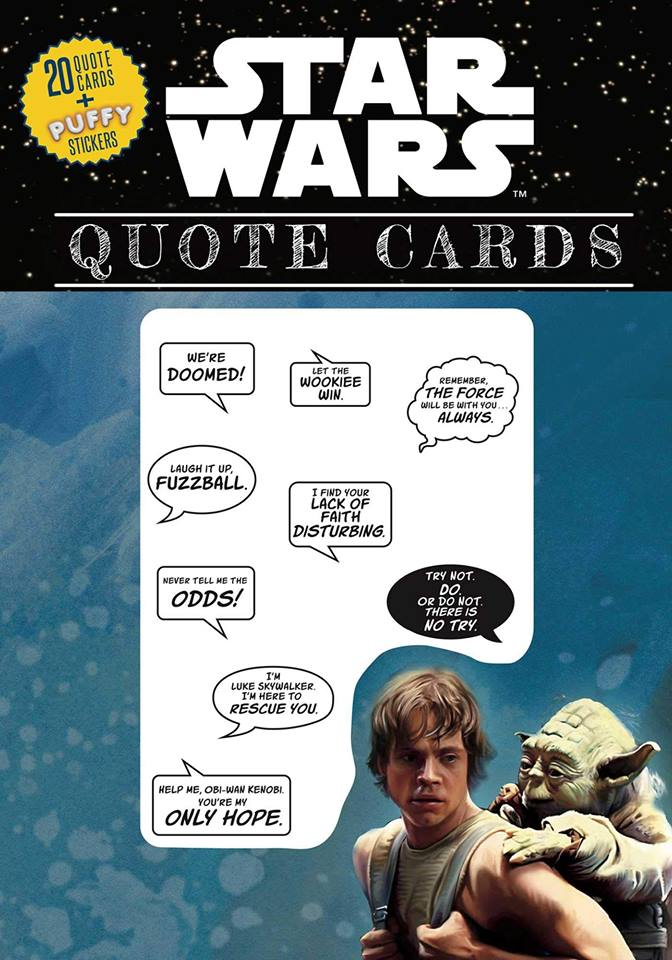 Star Wars Quote Cards