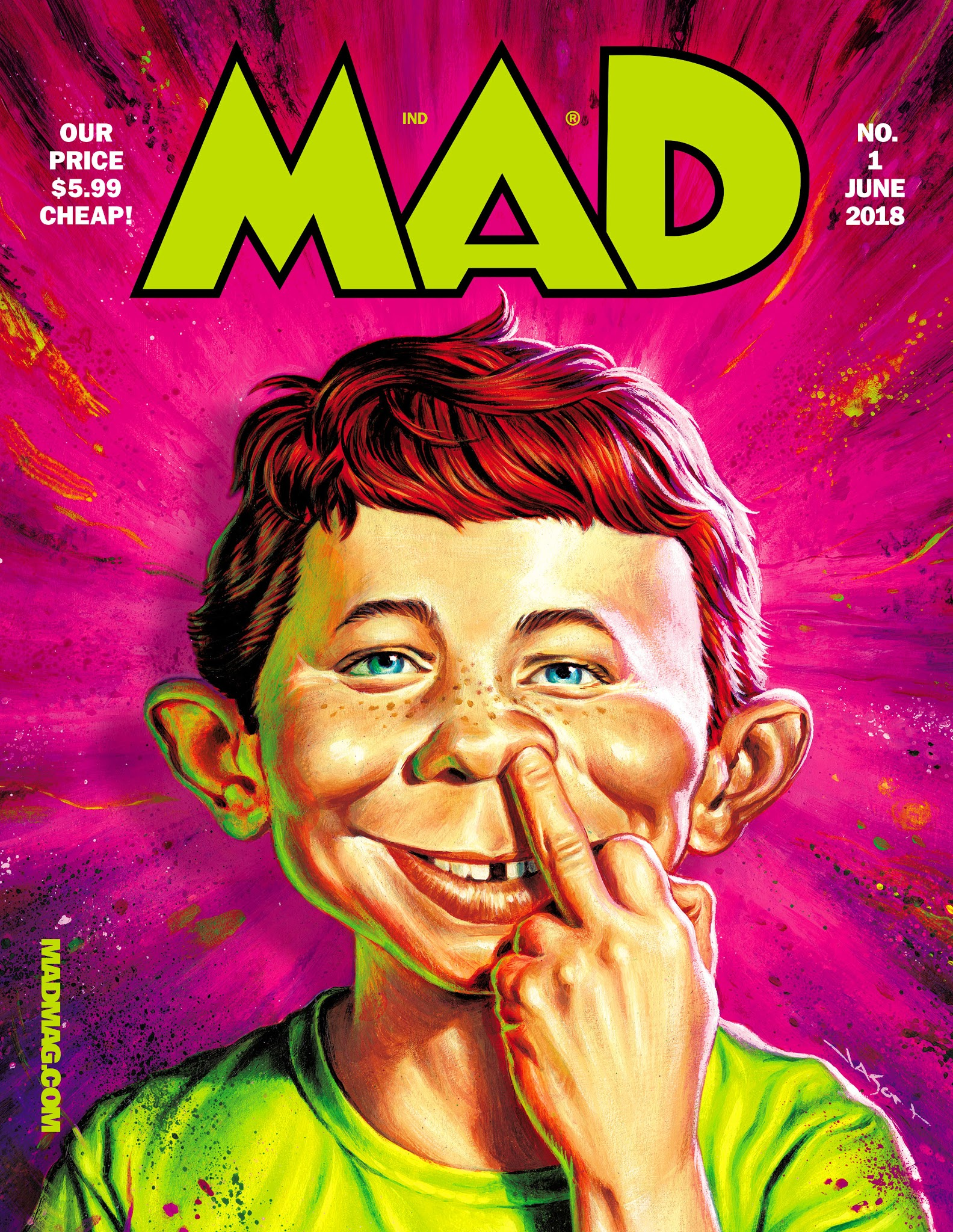 Mad Magazine 1 (June 2018)
