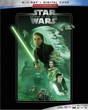 Star Wars: Return of the Jedi (2019 Blu Ray)