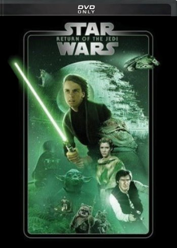 Star Wars: Return of the Jedi (2019 DVD)