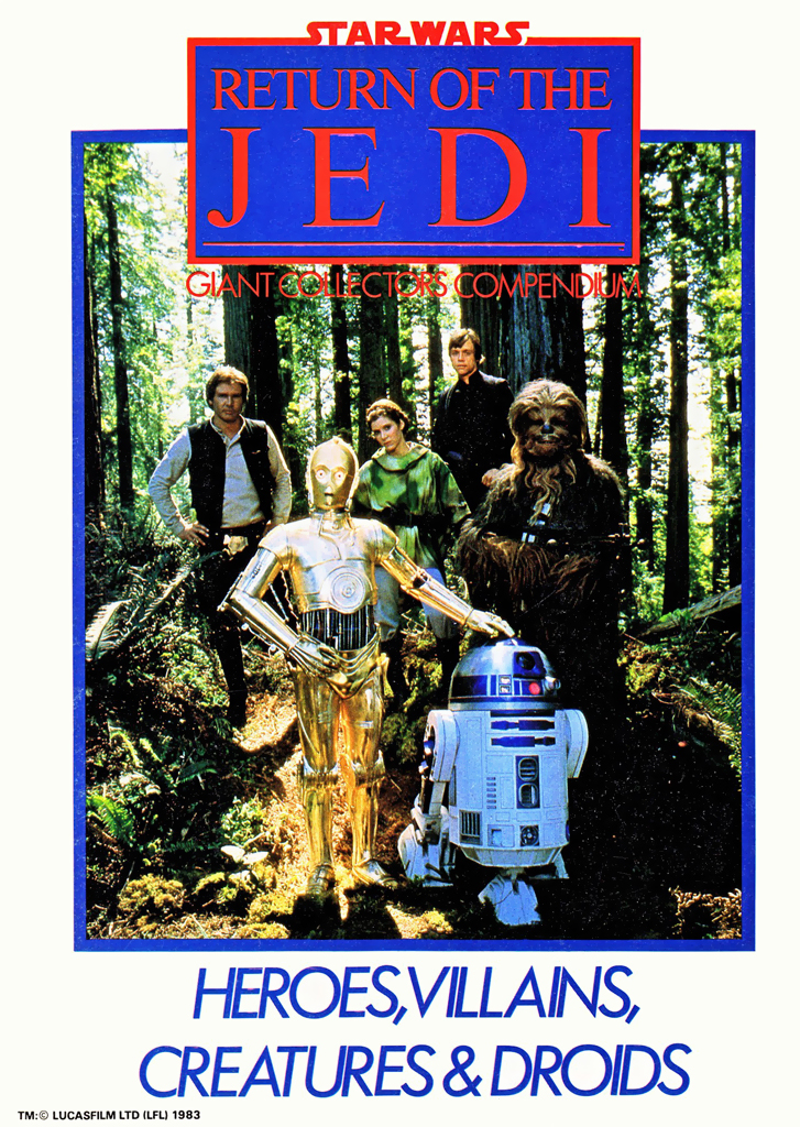 Star Wars Return of the Jedi Giant Collectors Compendium: Heroes & Villans