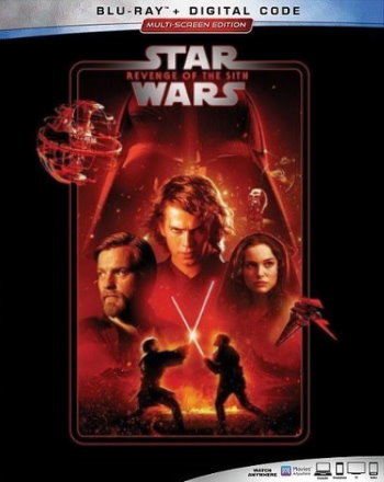 Star Wars: Revenge of the Sith (2019 Blu Ray)