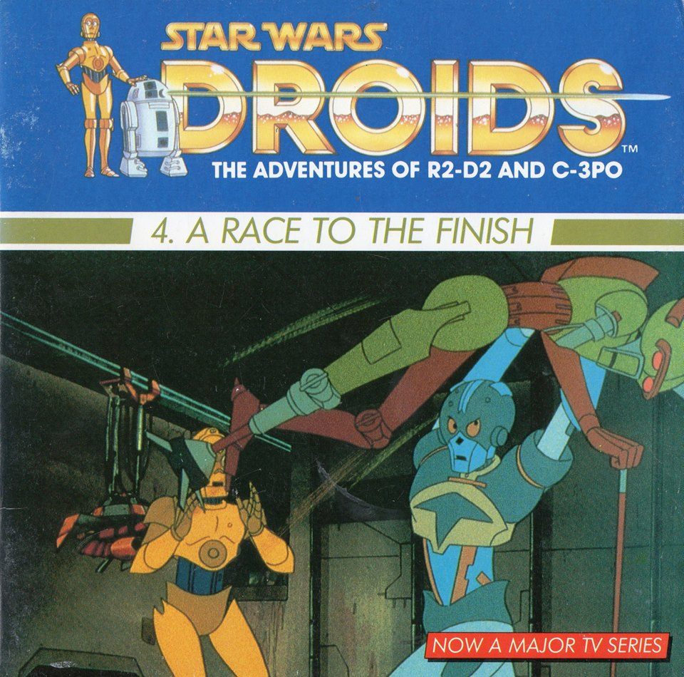 A Race to the Finish: A Droid Adventure (Dragon Books)