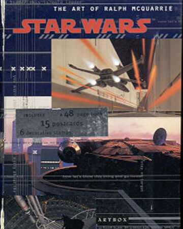Star Wars Ralph McQuarrie Art Box