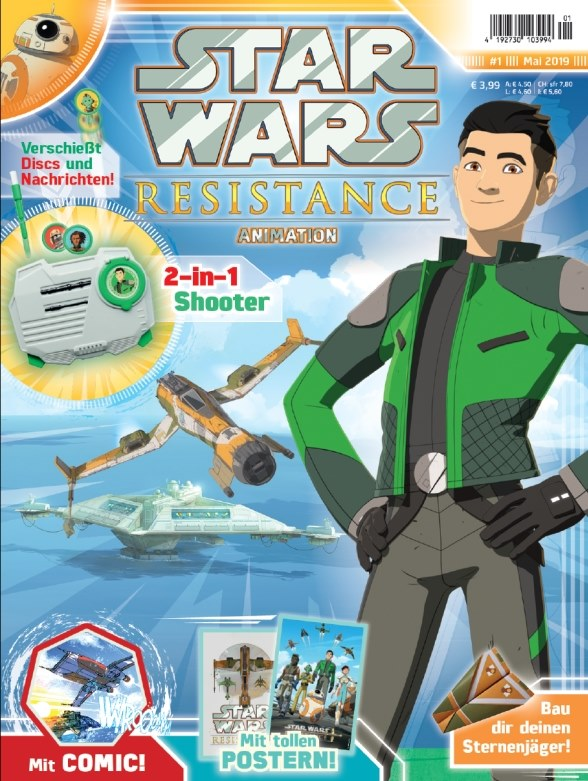 Star Wars Resistance Animation Magazine 1