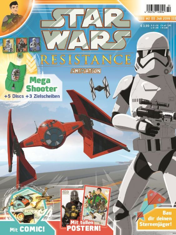 Star Wars Resistance Animation Magazine 2
