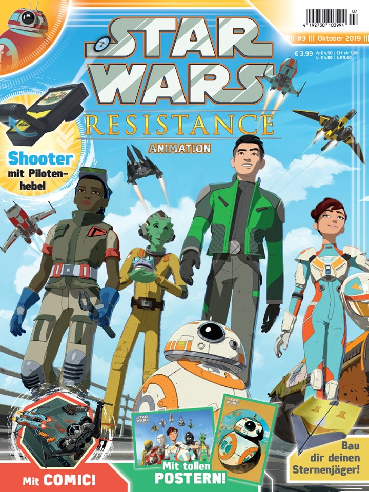 Star Wars Resistance Animation Magazine 3