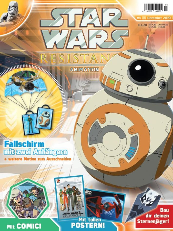 Star Wars Resistance Animation Magazine 4