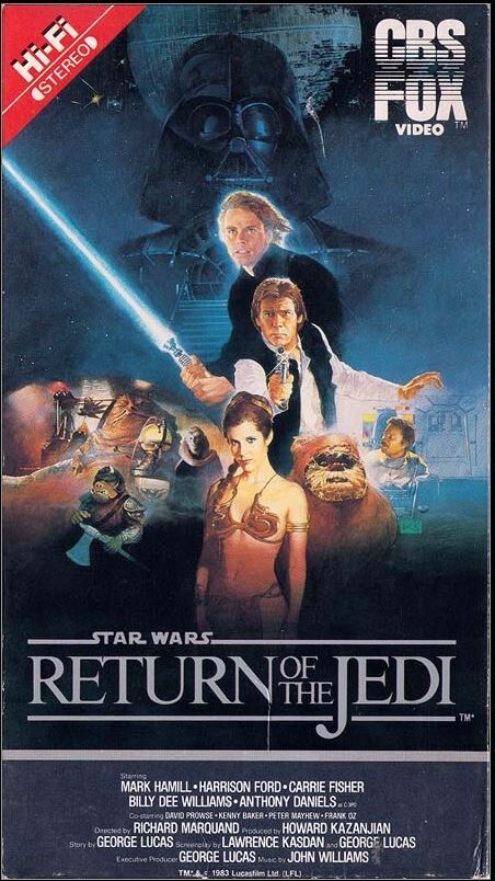 Star Wars: Return of the Jedi (VHS)
