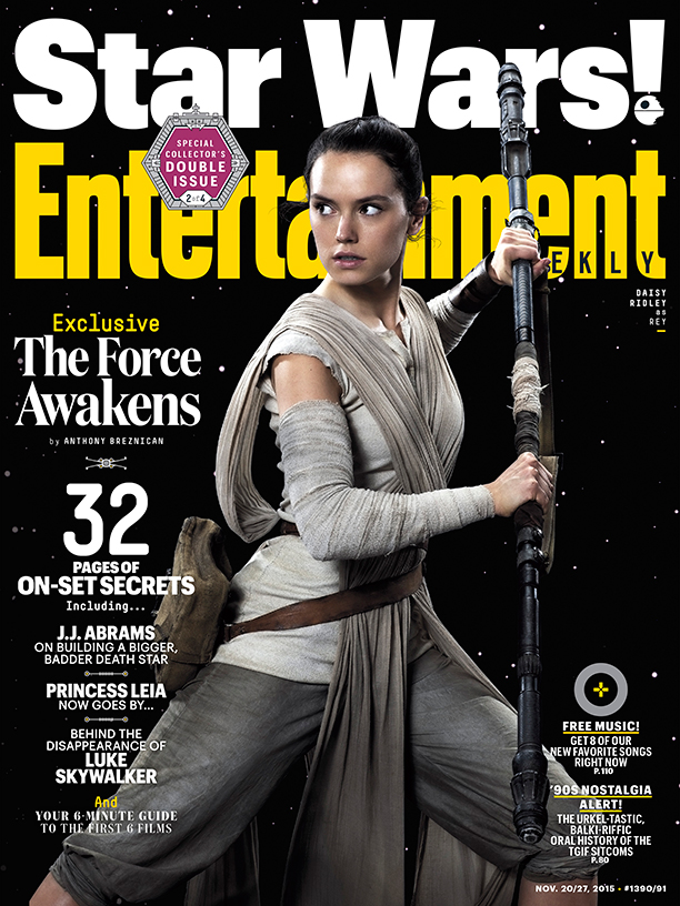 Entertainment Weekly November 27, 2015 (Rey Cover)