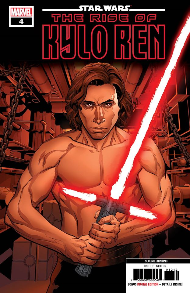 Star Wars: The Rise of Kylo Ren 4 - Second Printing