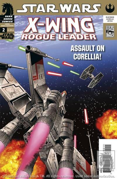 Star Wars X-Wing Rogue Leader 2