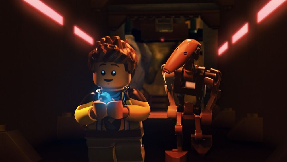 Lego Star Wars The Freemaker Adventures: The Mines of Graballa