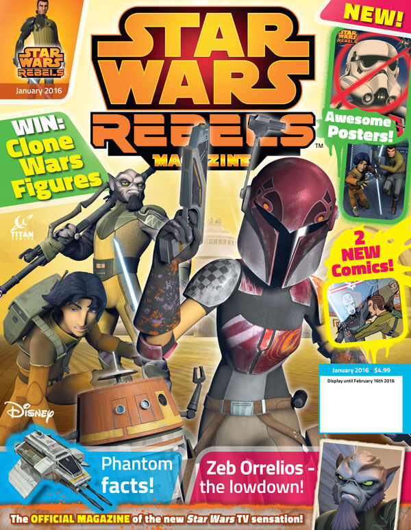 Star Wars Rebels Magazine 2 (US)