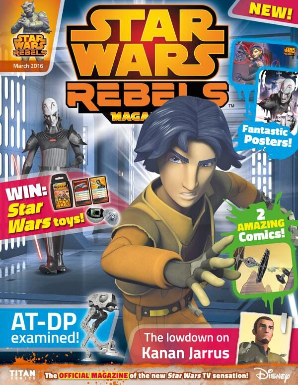 Star Wars Rebels Magazine 3 (US)