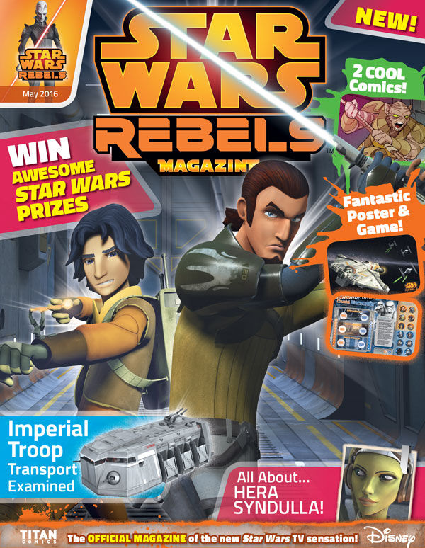 Star Wars Rebels Magazine 4 (US)
