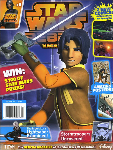 Star Wars Rebels Magazine 8 (US)