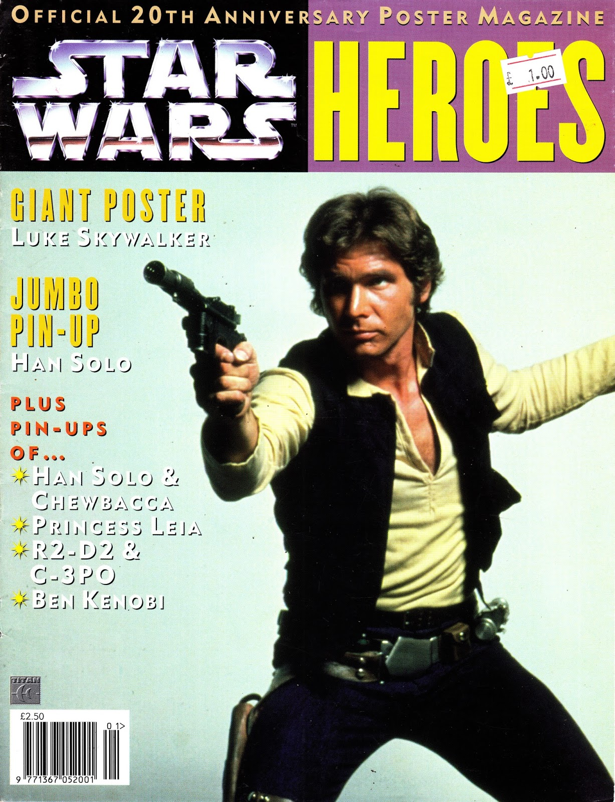 Star Wars Heroes (Official Poster Magazine 1997)