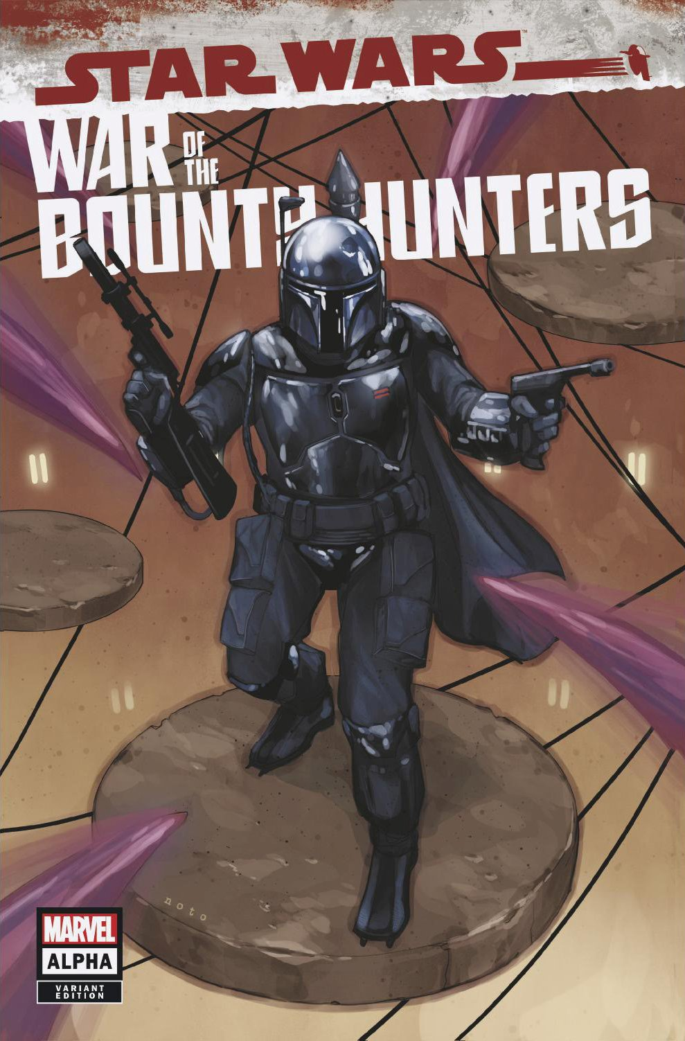 Star Wars: War of the Bounty Hunters Alpha - State of Comics Variant