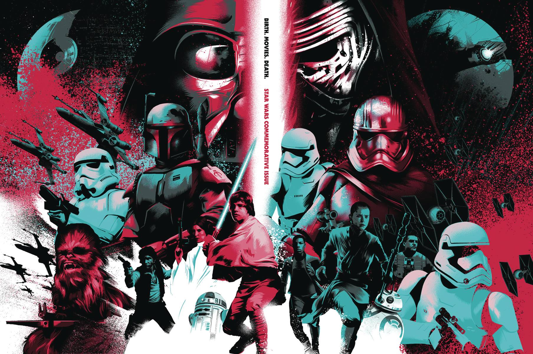Birth.Movies.Death Star Wars Commemorative Issue (2015)