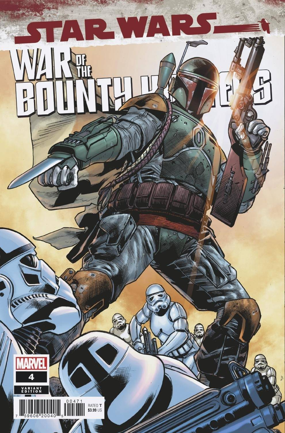 Star Wars: War of the Bounty Hunters 4 - Hitch Variant