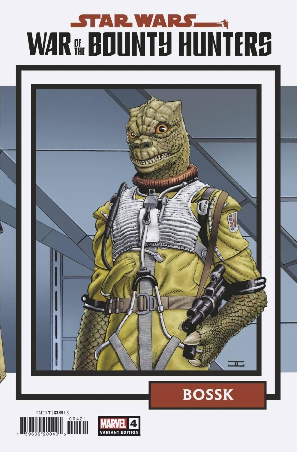 Star Wars: War of the Bounty Hunters 4 - Cassaday Variant