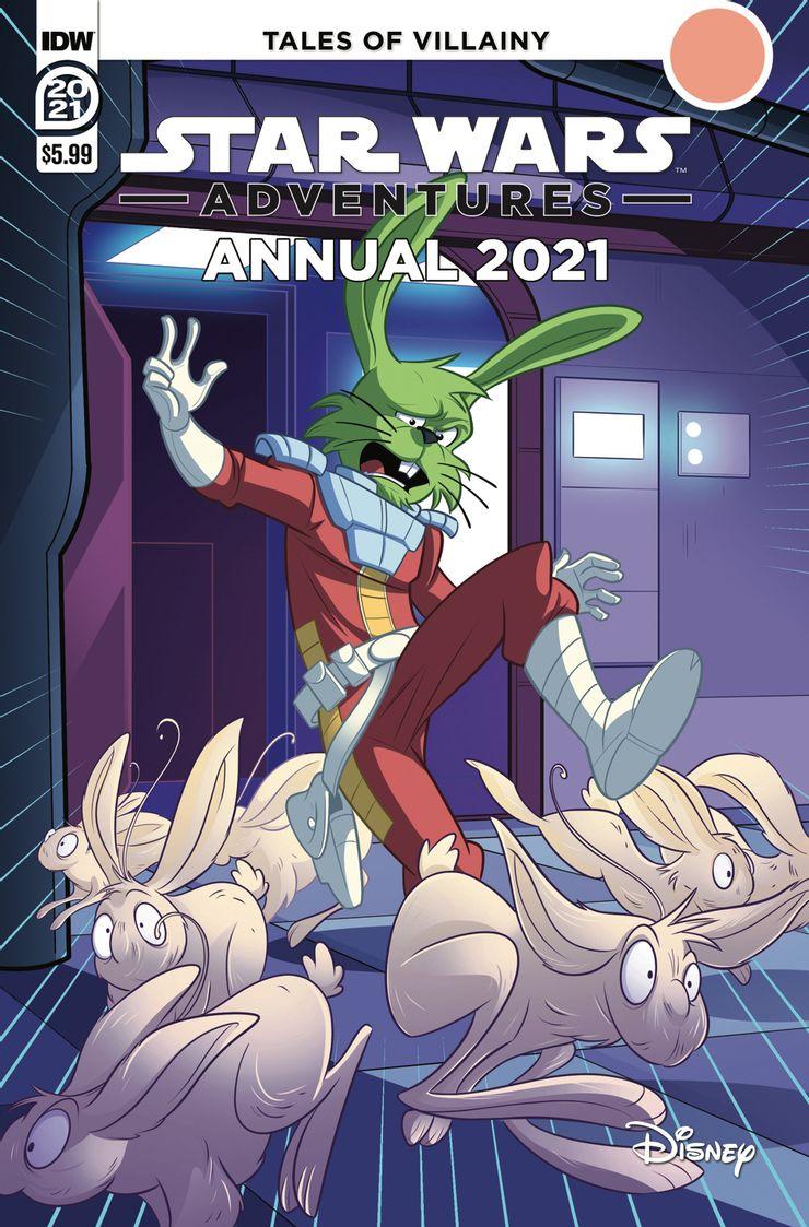 Star Wars Adventures Annual: Hoojibs