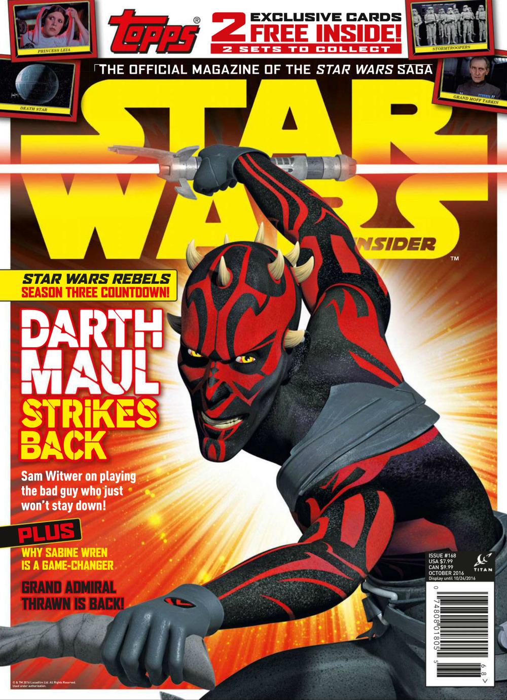 Star Wars Insider 168 Newsstand Edition