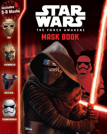Star Wars The Force Awakens Mask Book