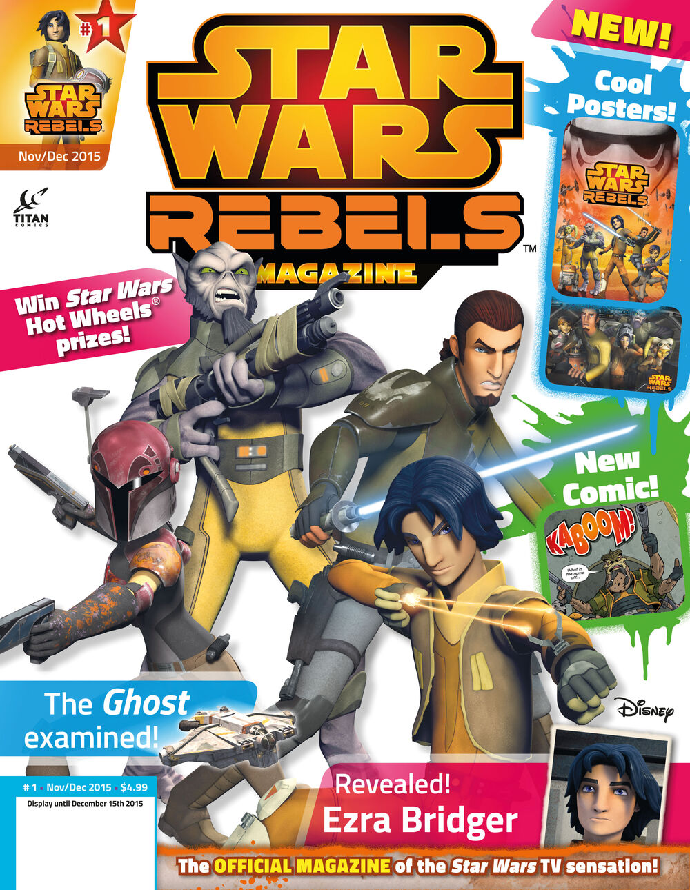 Star Wars Rebels Magazine 1 (US)