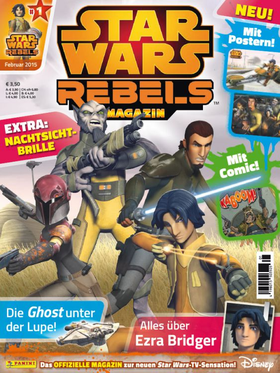 Star Wars Rebels Magazin 1 (Germany)