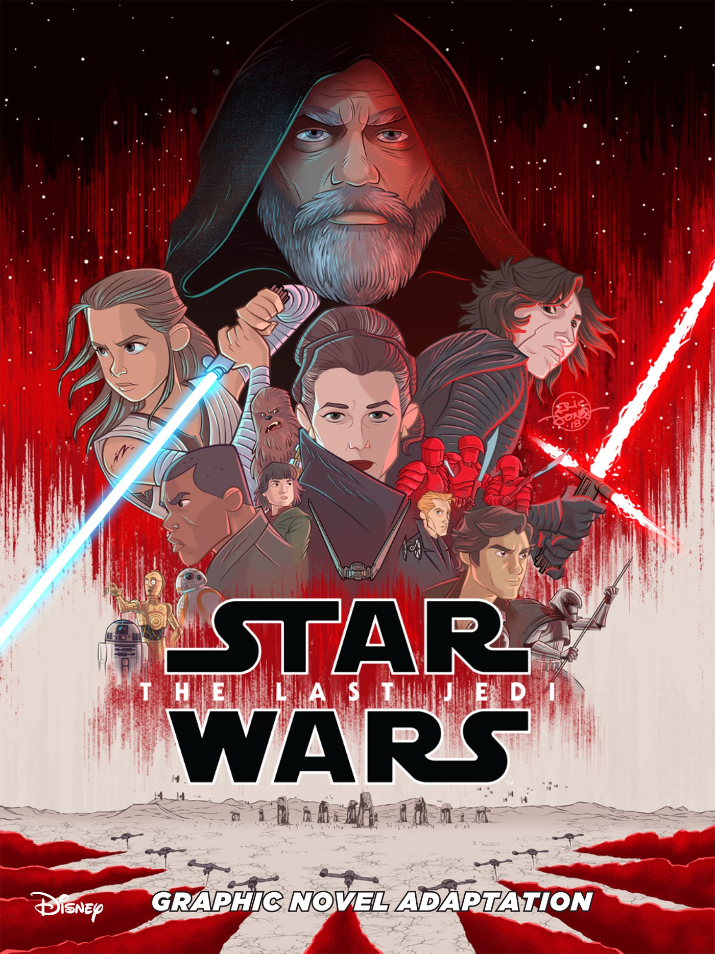 Star Wars: The Last Jedi Junior Comic Adaptation