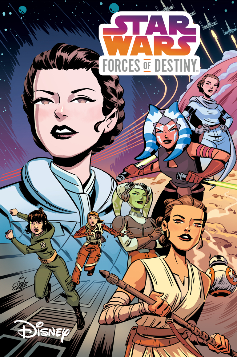 Star Wars Forces of Destiny: Leia