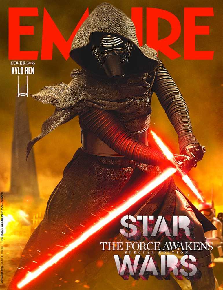 Empire Magazine 319 (Kylo Ren - 5 of 6)