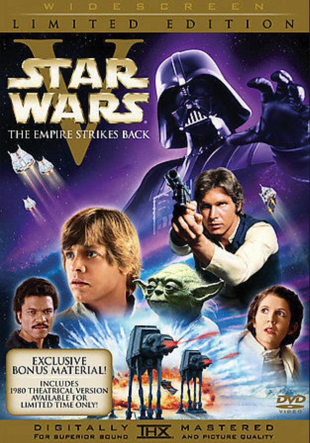 Star Wars: The Empire Strikes Back (Special Edition DVD with Original Theatrical Release)