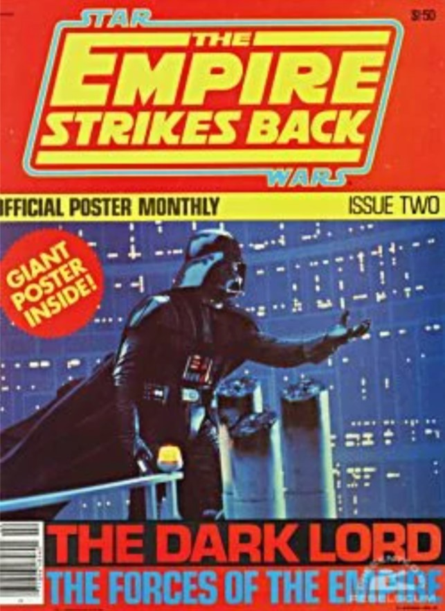The Empire Strikes Back Official Poster Monthly 2