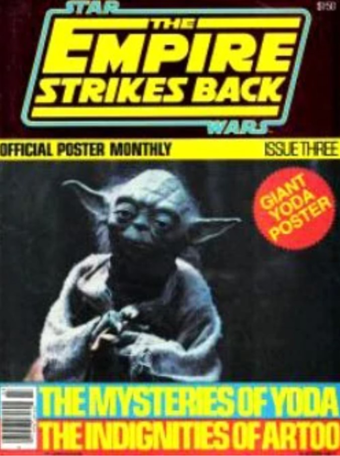 The Empire Strikes Back Official Poster Monthly 3