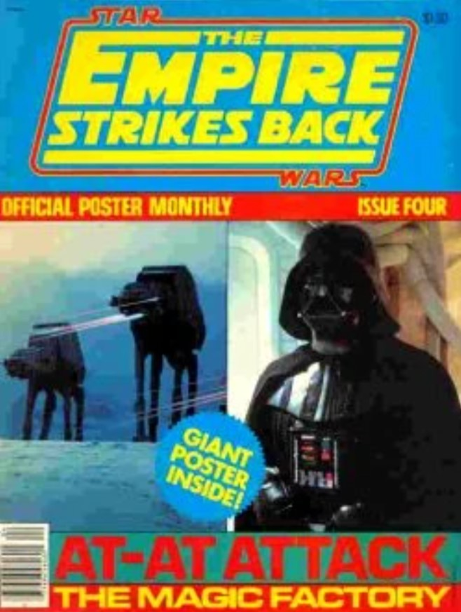 The Empire Strikes Back Official Poster Monthly 4