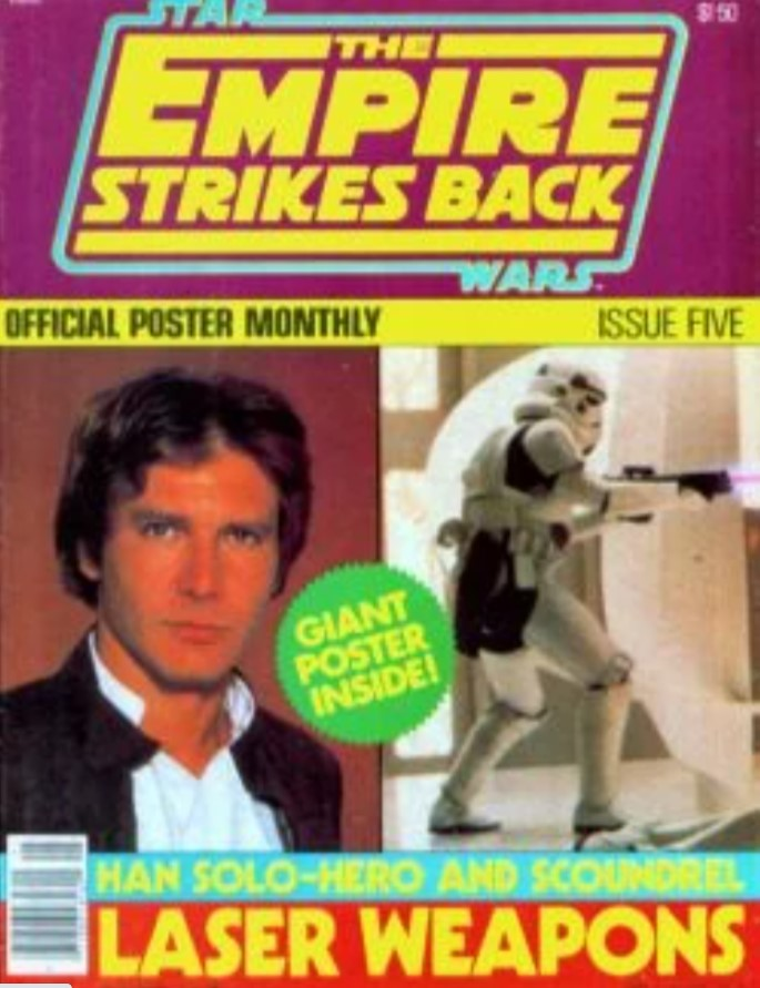 The Empire Strikes Back Official Poster Monthly 5