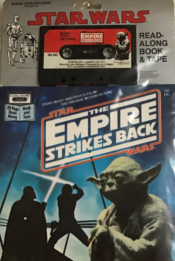Star Wars: The Empire Strikes Back (Book and Tape)