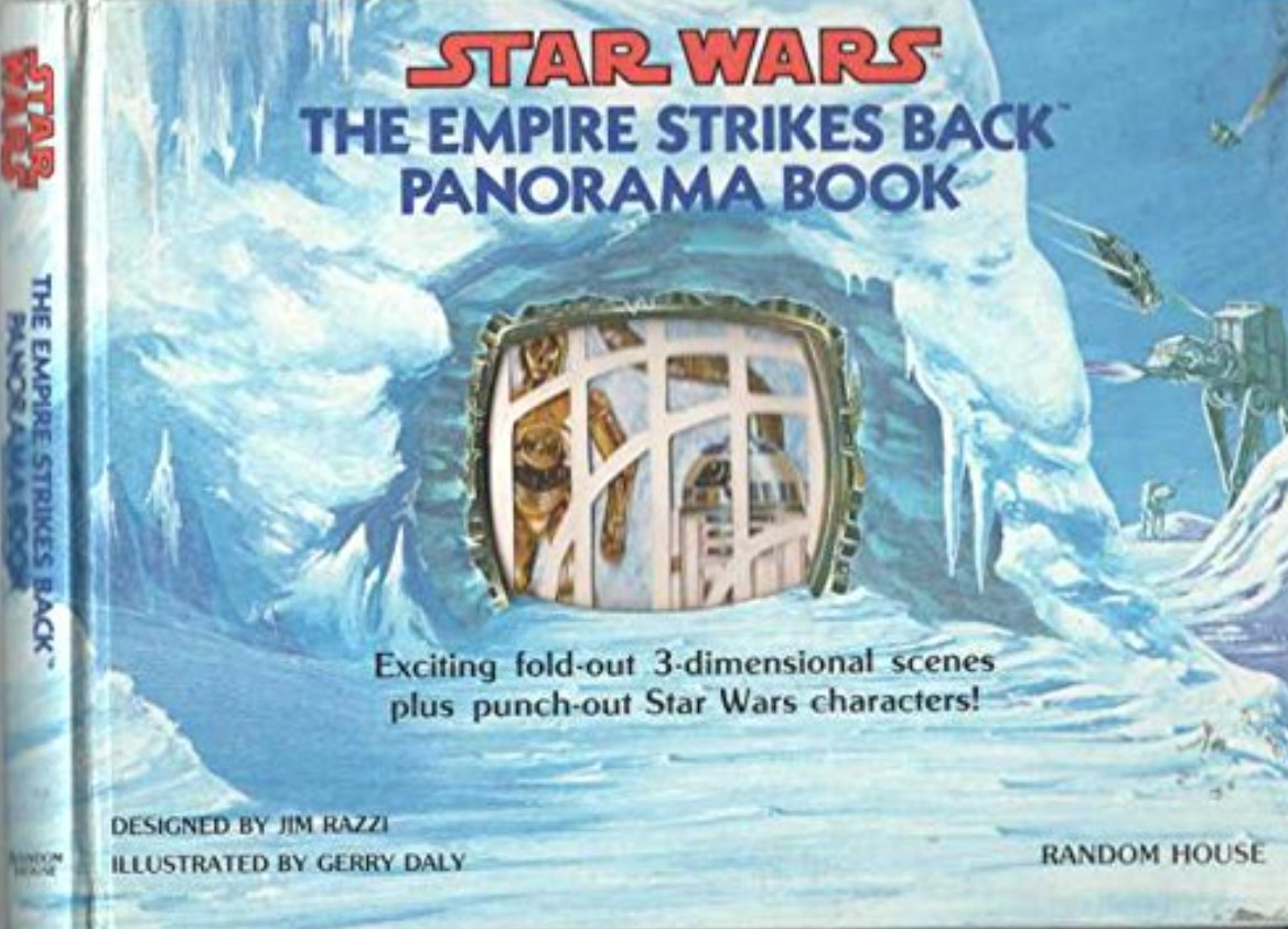 Star Wars: The Empire Strikes Back Panorama Book
