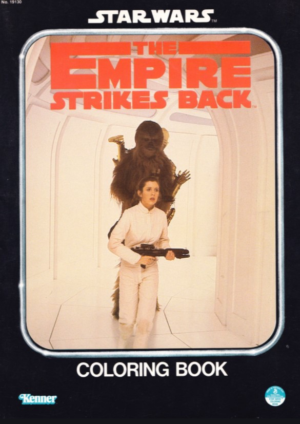 Star Wars: The Empire Strikes Back Coloring Book (Leia and Chewie)