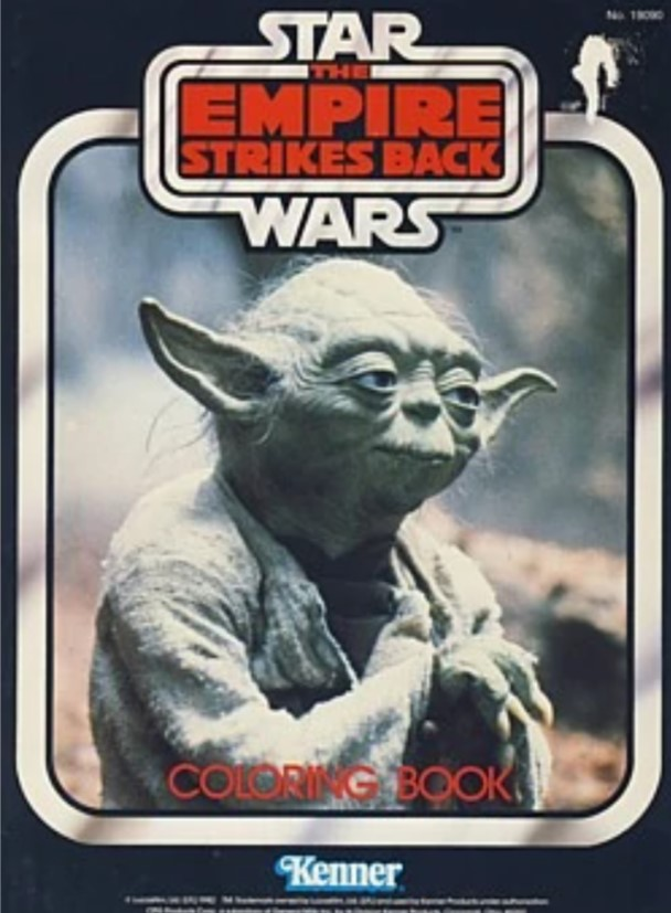 Star Wars: The Empire Strikes Back Coloring Book (Yoda)